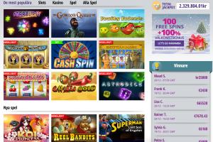 karamba casino spelutbud