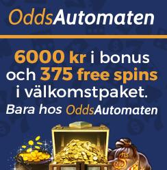 oddsautomaten casino bonus