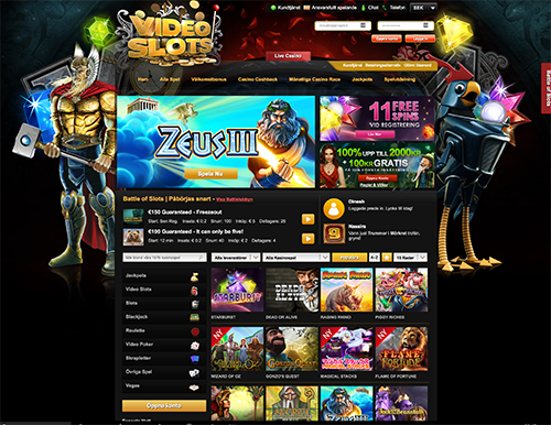 video slots casino gratis
