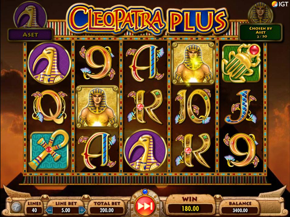 Cleopatra Plus Slot Big