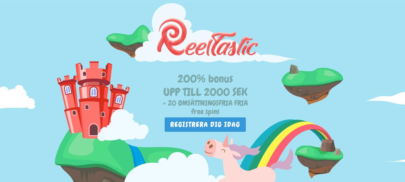 reeltastic bonus
