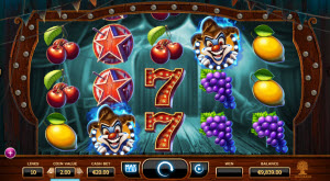wicked circus slot