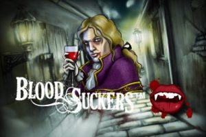 blood suckers slot logo