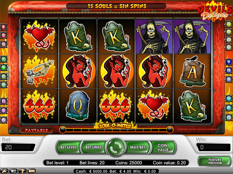 devils delight slot