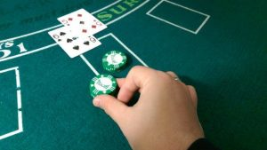 när ska man dubbla i blackjack