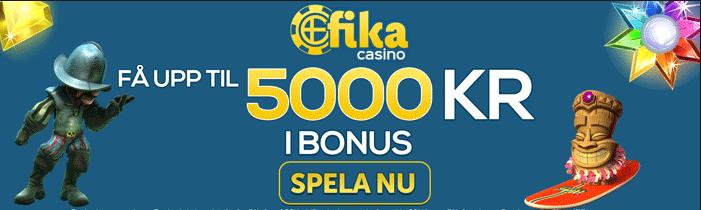 casino fika bonus