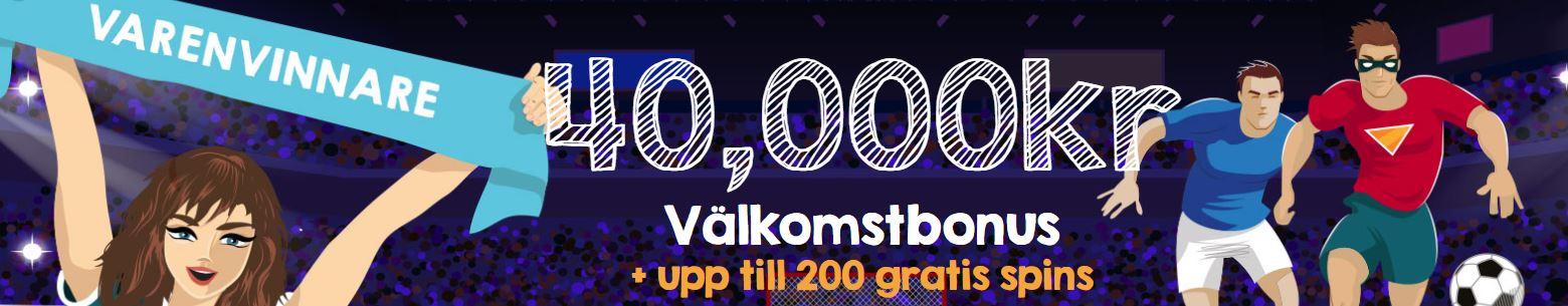 vilket casino erbjuder storst bonus i sverige