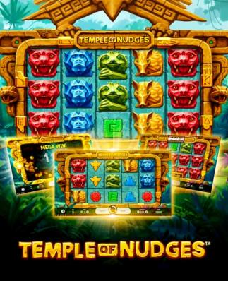 Utforska djungeln med NetEnts nya Temple of Nudges