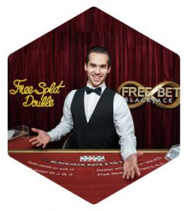 Free Bet Blackjack - nytt live spel från Evolution Gaming
